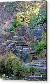 Enchanted Stairway Acrylic Print by Athena Mckinzie