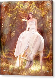 Enchanted Summer Acrylic Print by Pamela Hagedoorn