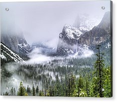 Enchanted Valley Acrylic Print by Bill Gallagher