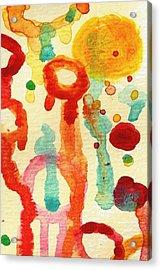 Encounters 1 Acrylic Print by Amy Vangsgard
