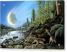 End Of Cretaceous Kt Event Acrylic Print by Richard Bizley