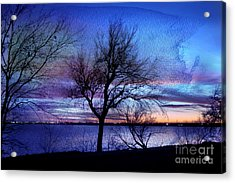 End Of Day Acrylic Print by Betty LaRue