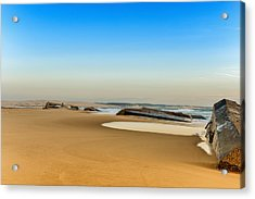 Acrylic Print featuring the photograph End Of The World by Thierry Bouriat