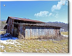 End Of Winter Acrylic Print by Susan Leggett