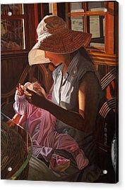 Enfamil At Ha Long Bay Vietnam Acrylic Print by Thu Nguyen