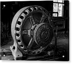Engine Of A Mad Scientist Acrylic Print by David Lee Thompson