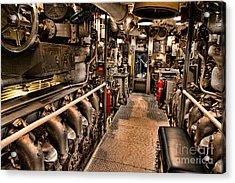 Engine Room Acrylic Print by Jon Burch Photography