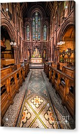 English Church 2 Acrylic Print by Adrian Evans