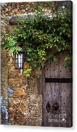 English Door Acrylic Print by Jill Battaglia