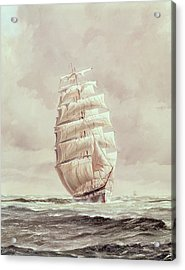 English Wool Clipper Acrylic Print by Anonymous
