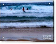 enjoy the ocean I Acrylic Print by Hannes Cmarits