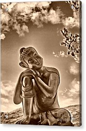 Enlightenment 2 Acrylic Print by Cheryl Young