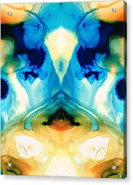 Enlightenment - Abstract Art By Sharon Cummings Acrylic Print by Sharon Cummings