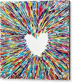 Enlightenment Acrylic Print by Sean Ward