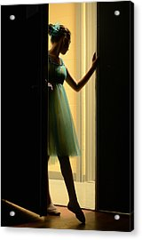 Enter Upon This Stage Acrylic Print by Laura Fasulo