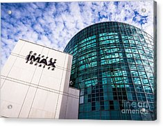 Entergy Imax Theatre In New Orleans Acrylic Print by Paul Velgos