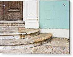 Entrance Steps Acrylic Print by Tom Gowanlock