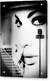 Entrance To A Woman's Mind Acrylic Print by Karen Wiles