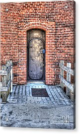 Entrance To Little Sable Lighthouse Acrylic Print by Twenty Two North Photography