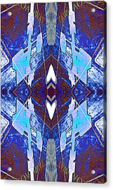 Entropic Four Way Pairs 2013 Acrylic Print by James Warren
