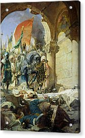 Entry Of The Turks Of Mohammed II Into Constantinople Acrylic Print by Benjamin Constant