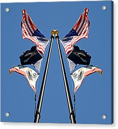 Equal Flag Spirit 2013 Acrylic Print by James Warren