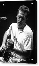 Eric Clapton 003 Acrylic Print by Timothy Bischoff