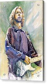 Eric Clapton 05 Acrylic Print by Yuriy Shevchuk