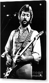 Eric Clapton 1977 Acrylic Print by Chris Walter
