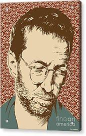 Eric Clapton Acrylic Print by Jim Zahniser