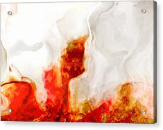 Eruption Acrylic Print by Jack Zulli