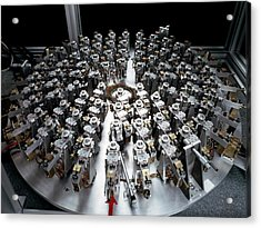 Eso Active Optics Experiment Equipment Acrylic Print by European Southern Observatory
