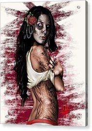 Esperanza Viva Acrylic Print by Pete Tapang