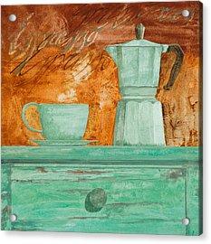 Espresso Acrylic Print by Guido Borelli