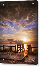Essence Of Light Acrylic Print by Marvin Spates