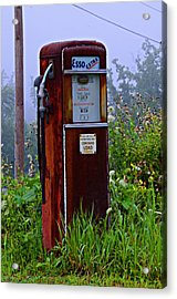 Esso Extra Acrylic Print by Bill Cannon