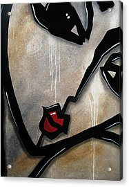 Etched In Stone Acrylic Print by Tom Fedro - Fidostudio