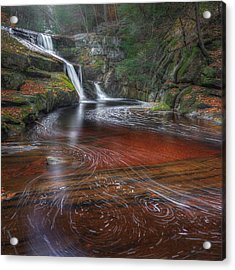 Ethereal Autumn Square Acrylic Print by Bill Wakeley
