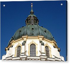 Ettal Abbey Bavaria Acrylic Print by The Creative Minds Art and Photography