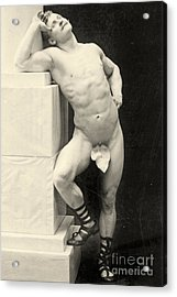Eugen Sandow Acrylic Print by George Steckel
