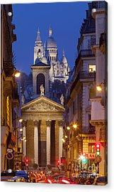 Evening In Paris Acrylic Print by Brian Jannsen