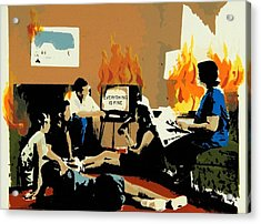 Everything Is Fine Acrylic Print by David Honaker