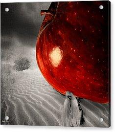 Eve's Burden Acrylic Print by Lourry Legarde