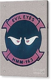 Evil Eyes Acrylic Print by Gregory Dyer