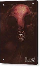 Evil Greek Mythology Minotaur Acrylic Print by Jorgo Photography - Wall Art Gallery