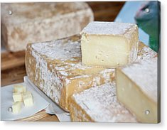 Ewes Milk Cheese Acrylic Print by Ashley Cooper