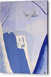 Exile Acrylic Print by Jonathan Laverick