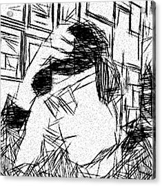 Existential Despair Acrylic Print by Jonathan Harnisch