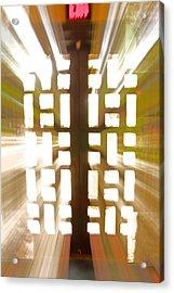 Exit Doors Acrylic Print by Stuart Litoff