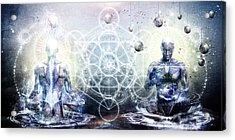 Experience So Lucid Discovery So Clear Acrylic Print by Cameron Gray
